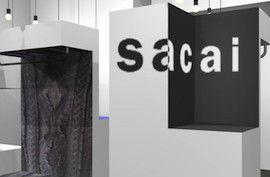 sacai(サカイ)のドローコードキルティング中綿シャツをお買取しました