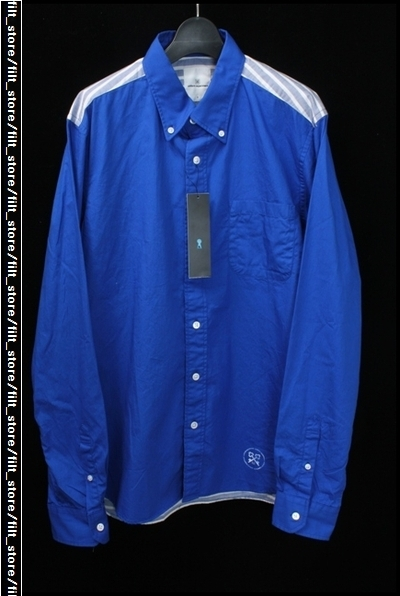 uniform experiment バックパネルボーダーシャツ