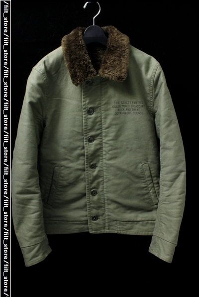 WACKO MARIA N-1スカルデッキジャケット
