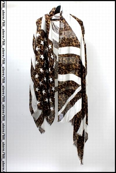 uniform experiment 13SSレオパ星条旗ストール