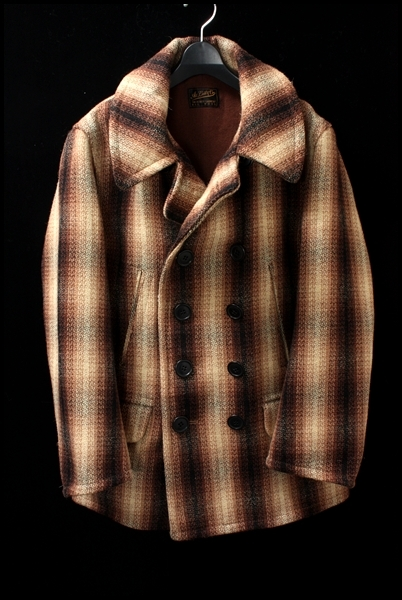 ATLAST & CO(time worn clothing/BUTCHER PRODUCTS) 13AWチェックPコート