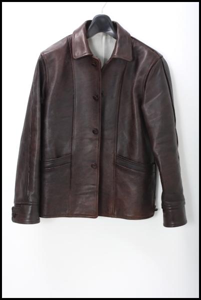 TENDERLOIN 12AW T-LEATHER Hレザージャケット