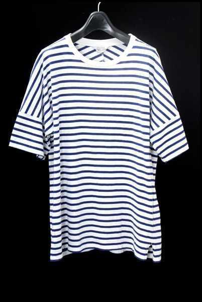 UNUSED 14SSビッグボーダーTシャツ
