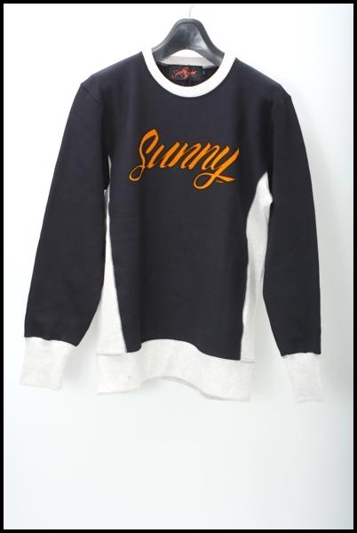 Sunny C Sider クルーネックスウェット