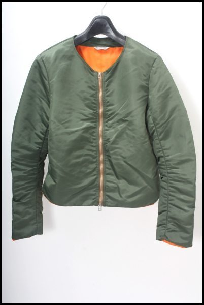 BED JW FORD ノーカラーMA-1ジャケット