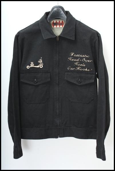 WEIRDO 刺繍ワークジャケット