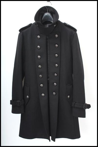 BURBERRY BLACK LABEL ナポレオン ウール トレンチコート