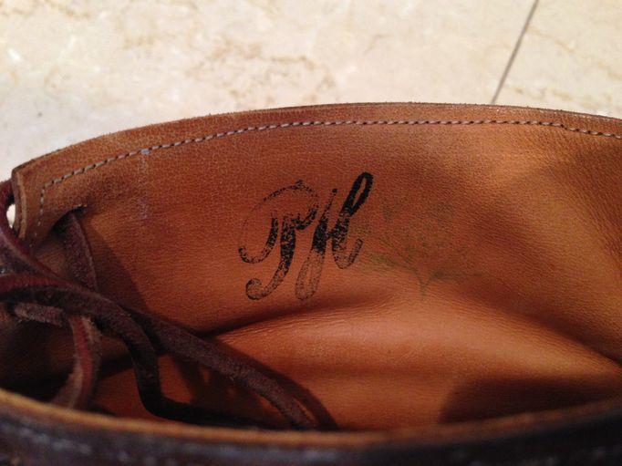 ポールハーデンのブーツ