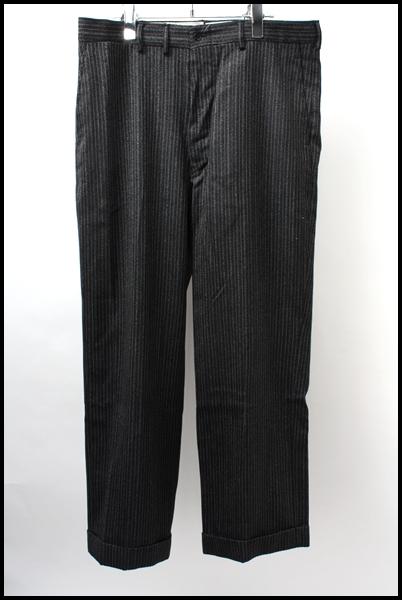ATLAST & CO(time worn clothing/BUTCHER PRODUCTS) ウールストライプパンツ