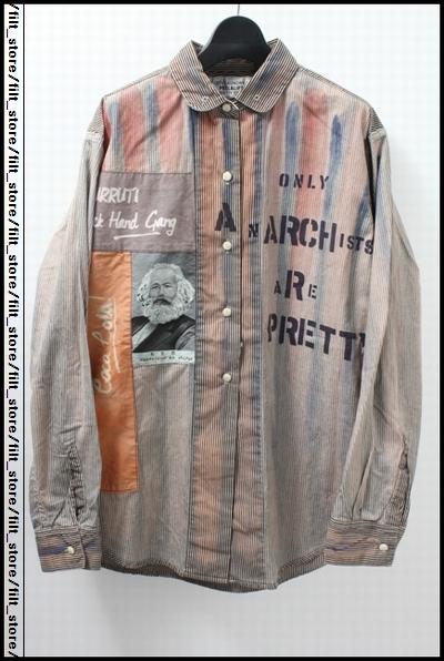 PEEL&LIFT DOUBLEDUTCHアナーキーシャツ