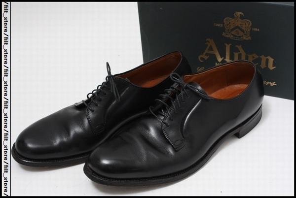 ALDEN オールデン655プレーントゥシューズ