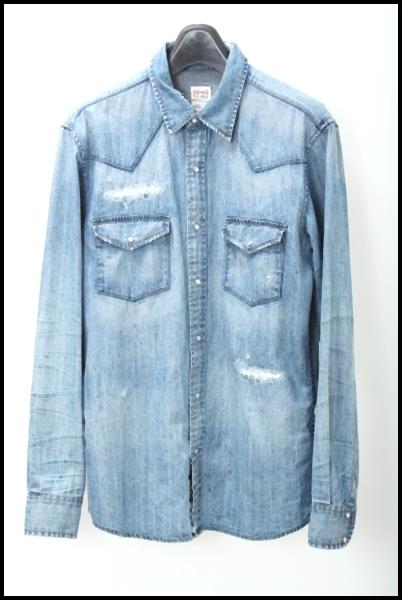AG Vintageデニム ウエスタンシャツ