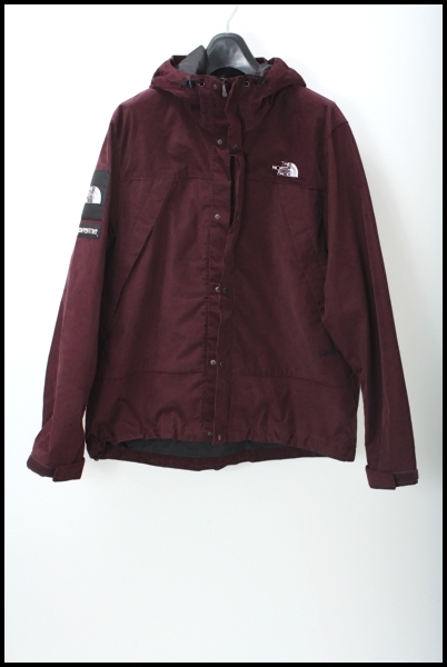 SUPREME ×THE NORTH FACE 12AW Mountain Shell Jacket corduroyマウンテンパーカー
