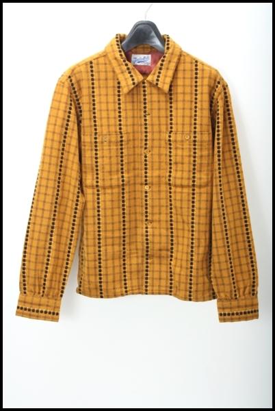 TENDERLOIN 13AW T-WOOL SHT DOTドット柄ウールシャツ