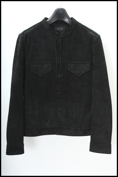UNUSED スウェード レザー ジャケット