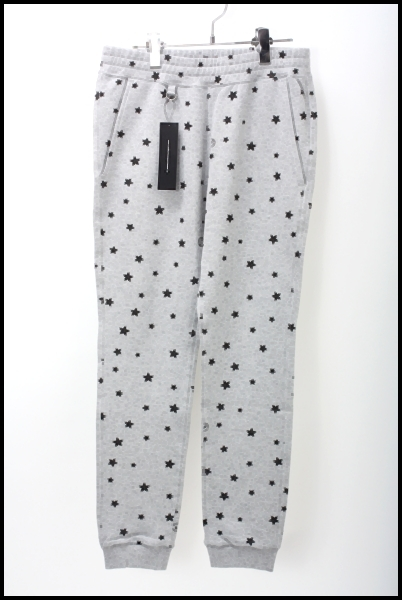 uniform experiment 14AW伊勢丹限定STAR PRINT SWEAT PANT