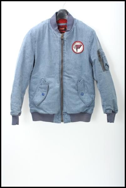 Sunny C Sider デニムMA-1ジャケット