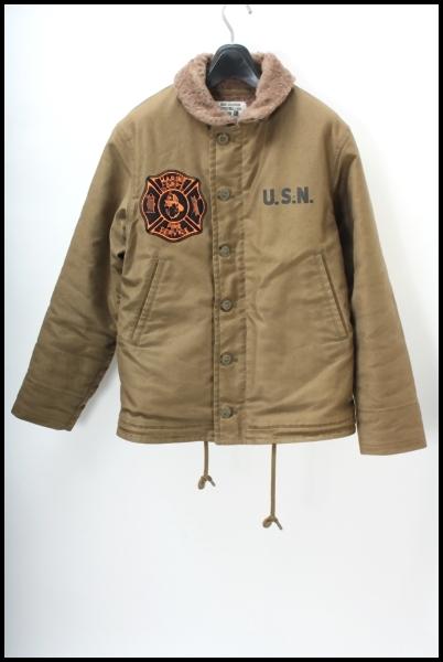 TOYS McCOY カスタムN-1デッキジャケット