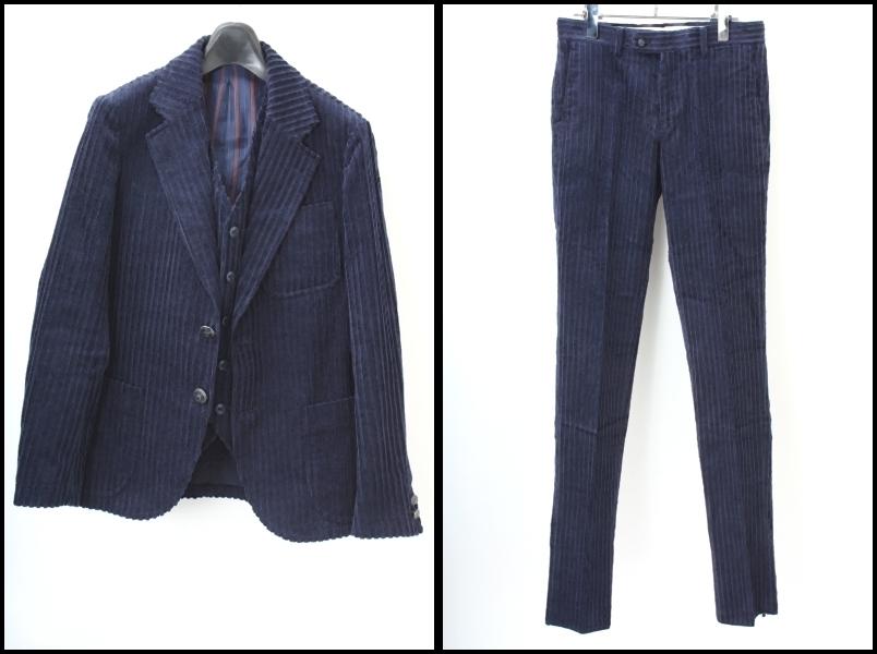 The Stylist Japan コーデュロイ3ピース スーツ