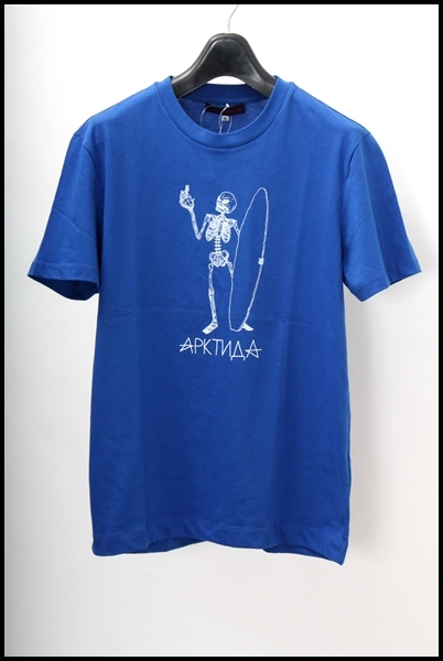 GOSHA RUBCHINSKIY スカルサーフTシャツ