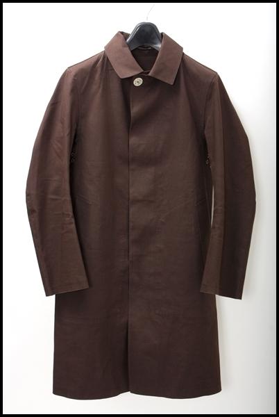 MACKINTOSH ゴム引きステンカラーコート