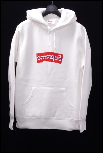 SUPREME ×COMME des GARCONS SHIRT  Box Logo Hooded Sweatshirt